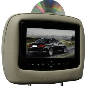 dvd headrest video package custom lcd led backlit screens  dvd players built   factory