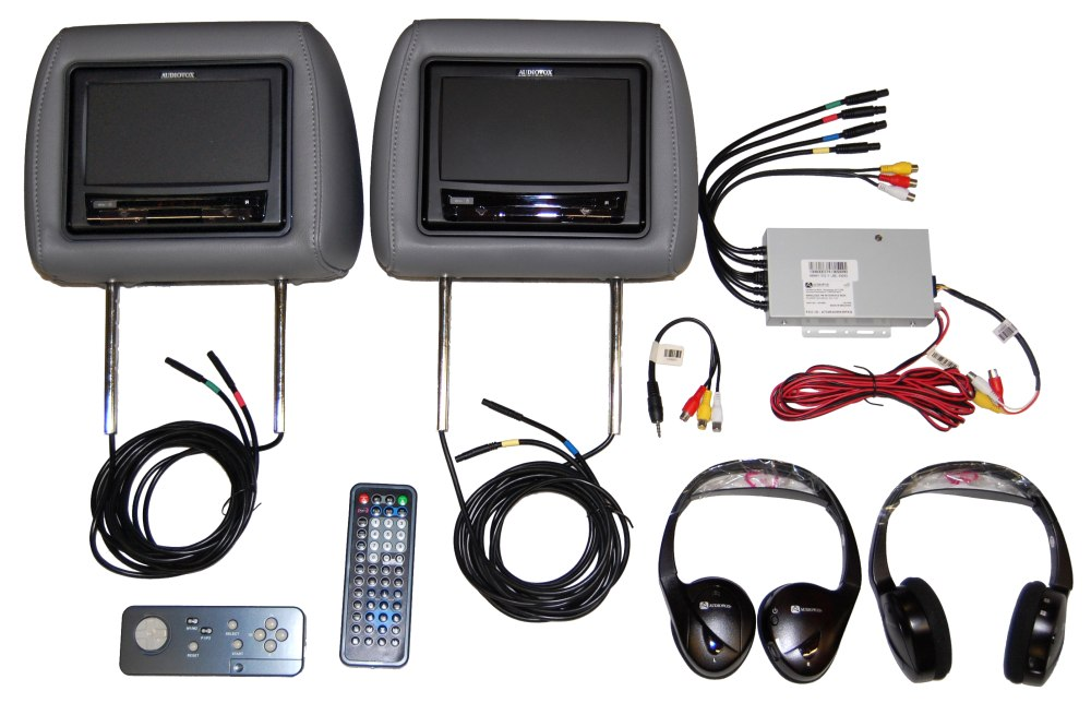 Ford Flex Headrest Dual Dvd Video Monitors 2010 2011 Auctions - Buy And Sell