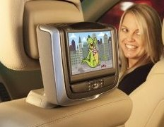 2013 Mercedes S550 Dual Dvd Headrest Video Players System
